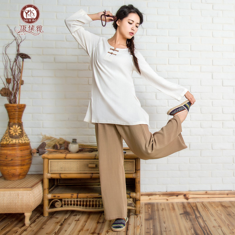 Autumn Winter Cotton Yoga Clothing Multi Color Clothing
