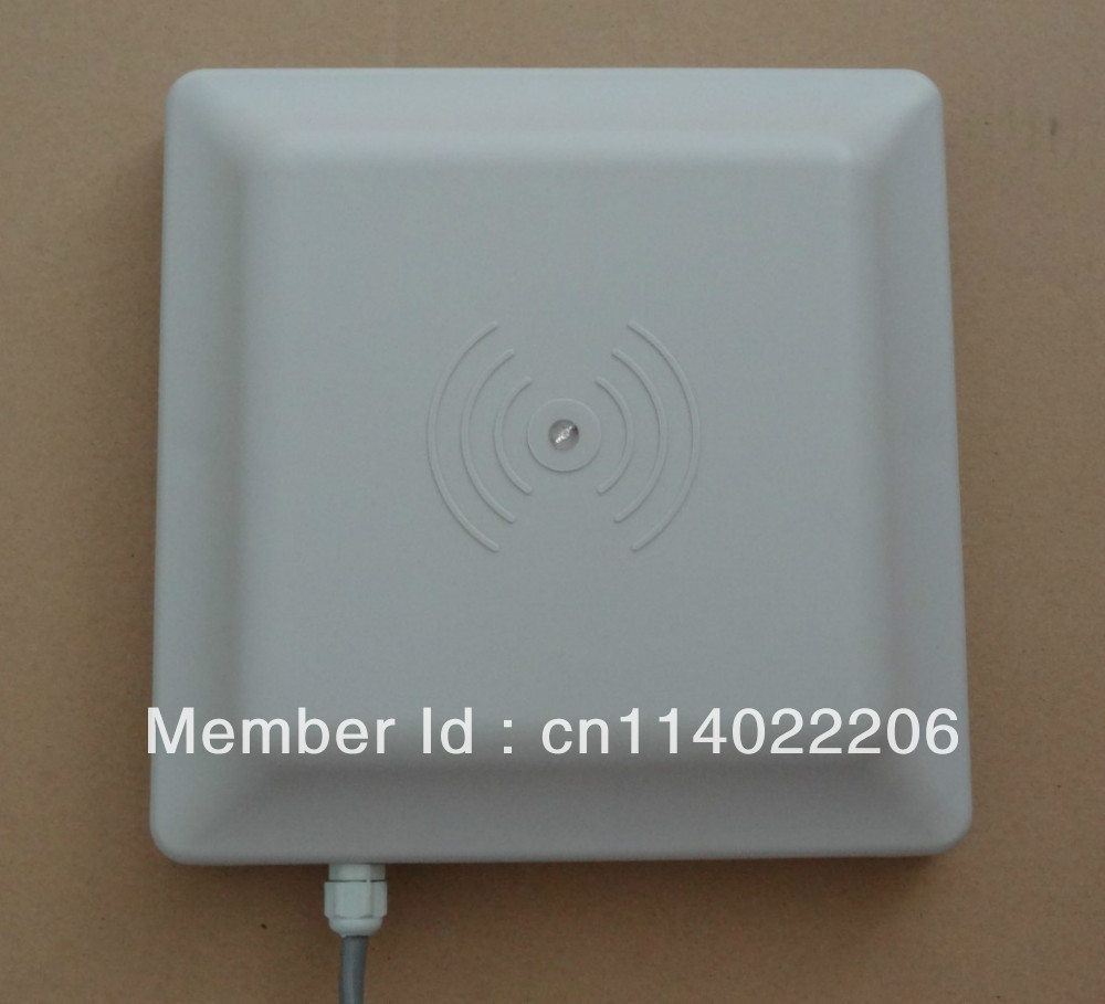 UHF RFID reader 6m long range reader RS232 485 with Wiegand Free SDK FCC approved