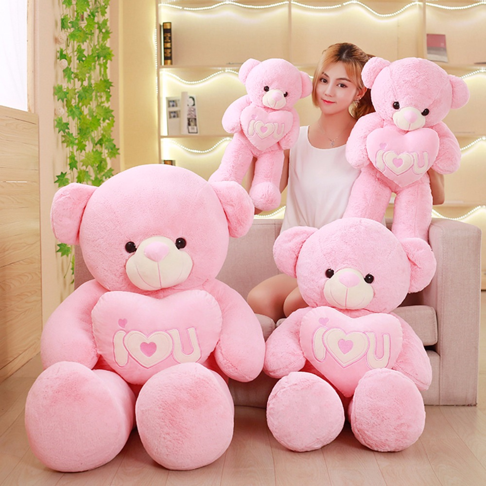 95cm Cute Teddy bear doll bear plush toy Love the Valentine's Day gift stuffed animal 120 cm cute love rabbit plush toy pink or purple floral love rabbit soft doll gift w2226
