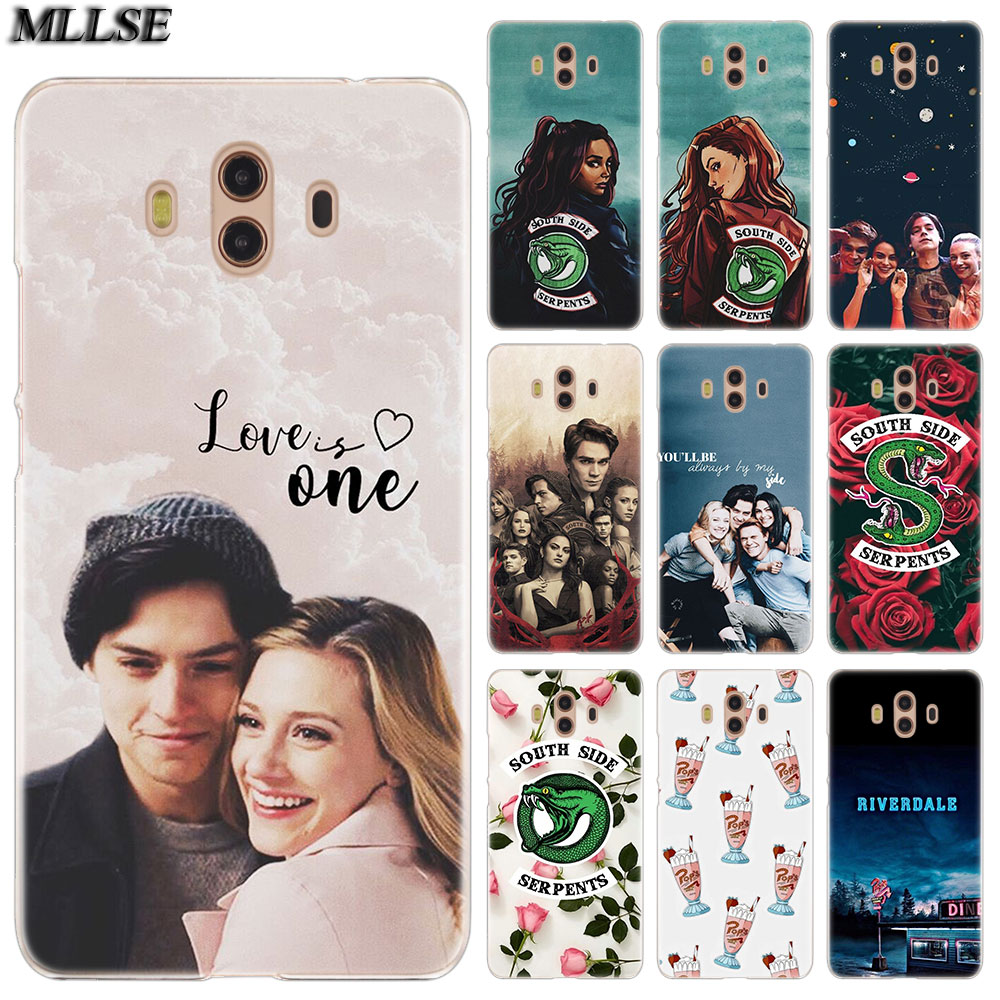 <font><b>Riverdale</b></font> South Side Serpents you and me <font><b>Case</b></font> for <font><b>Huawei</b></font> <font><b>Mate</b></font> S <font><b>10</b></font> 20 <font><b>Lite</b></font> Pro Y6II Y5 Y6 2017 Y7 Prime 2018 Y7 Pro Y9 2019 image