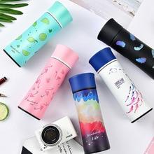 2018 Новый Фламинго Magic вакуумные фляжки-термосы Кофе кружка зеркало Нержавеющаясталь емкость для воды с теплоизоляцией чашки Портативный Термокружка