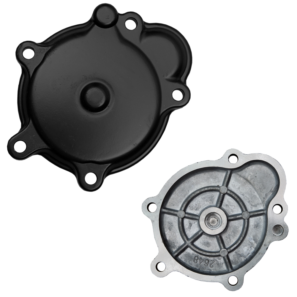 Motorcycle Aluminum Right Side Crankcase Stator Starter Engine Cover For Kawasaki Ninja ZX-10R <font><b>ZX10R</b></font> 2006 2007 <font><b>2008</b></font> 2009 2010 image