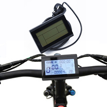 LCD3 Display Meter Remote Control 24/36/48/60/72V for Electric Bicycle 96*25*20mm Dimension