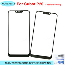 KOSPPLHZ For CUBOT p20 Front Glass Touch screen Mobile