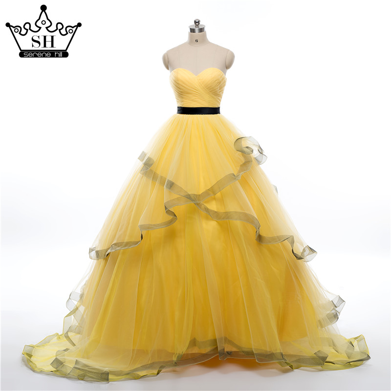 Popular yellow wedding gown buy cheap yellow wedding gown for Yellow wedding dresses pictures