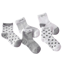 5Pairs lot Infant Baby Socks Summer Mesh Thin Baby Socks for Girls Cotton Newborn Boy Toddler Socks Baby Clothes Accessories cheap ECMLN Polyester spandex striped Children L-2701-S Unisex Fits true to size take your normal size Casual Summer Spring Autumn