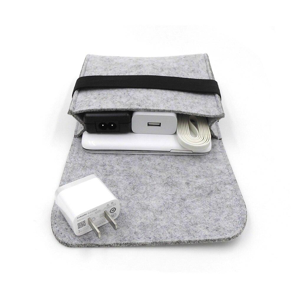 Nieuwe goedkope voelde opbergtas mini power bank geval - Home opslag en organisatie - Foto 4