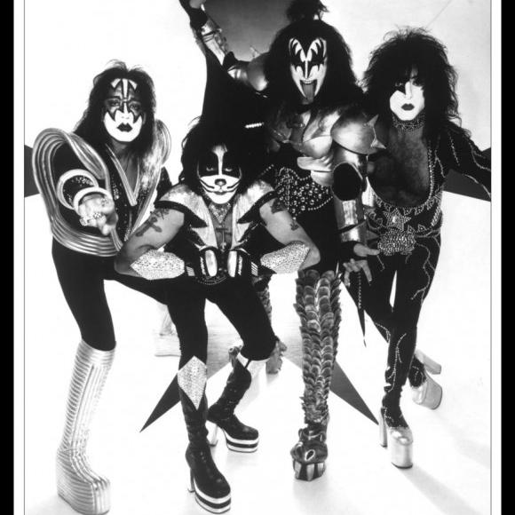 Kiss Psycho Circus Psycho Circus Promo Laminated & Framed Poster (24 X 36)