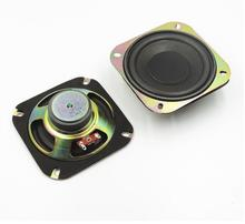 One Pair 4 inch 6 Ohms 8W Loudspeaker Pure Heavy Bass Subwoofer Speaker 6 ohm Full Range Speaker Home Theater Stereo Radio(China)