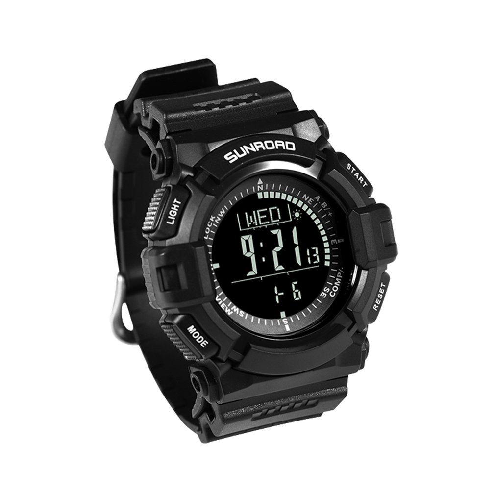United 2017 Skmei Brand Compass Watches 5atm Water Proof Digital Outdoor Sports Watch Mens Watch El Backlight Countdown Wrist Watches Digital Watches Watches
