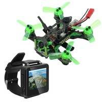 Mantis 85 Micro FPV Racing RTF Drone with Frsky/Flysky Receiver F4 Flight Controller with FPV Watch 40CH TFT Monitor BNF Version