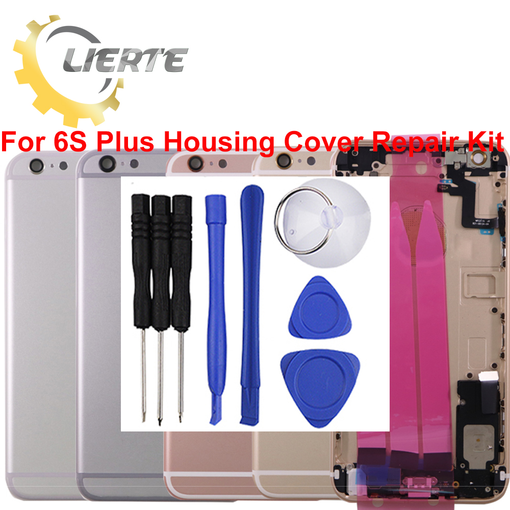 Torx Screwdriver Repair For IPhone 6S 6GS Plus Frame Bezel Chassis Back Full Housing Battery Door Rear Cover Body Flex Cable ia73 original chassis middle housing frame for iphone 4 silver