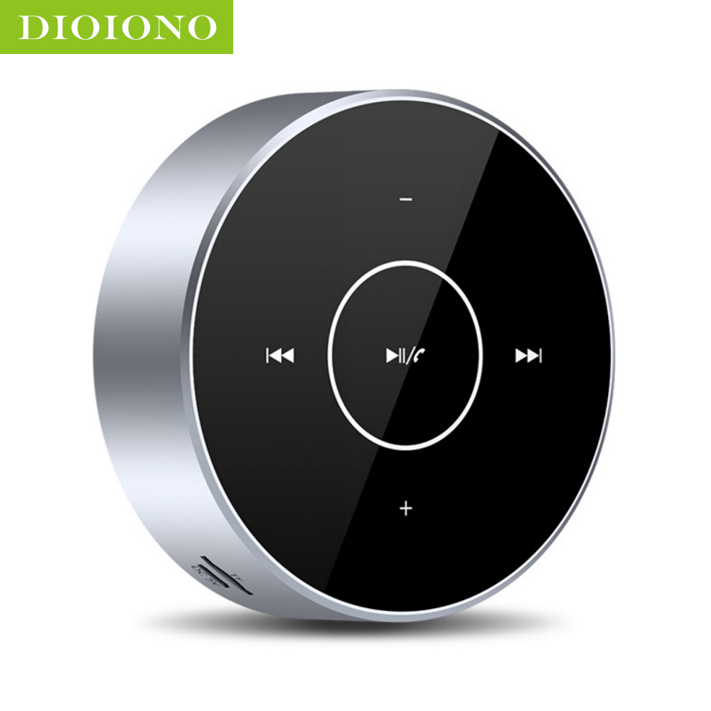 DioIono Portable TWS Mini Bluetooth Wireless Speaker Subwoofer 3D 360 Surround HD Sound Boombox Touch Screen Support TF Card