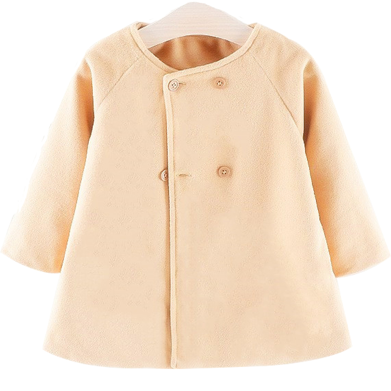 Baby Girl Boys Spring Winter Wool Blends Jacket Coat Clothes Infant Toddler Christmas New Years Costume Blend Clothing Outerwear 2
