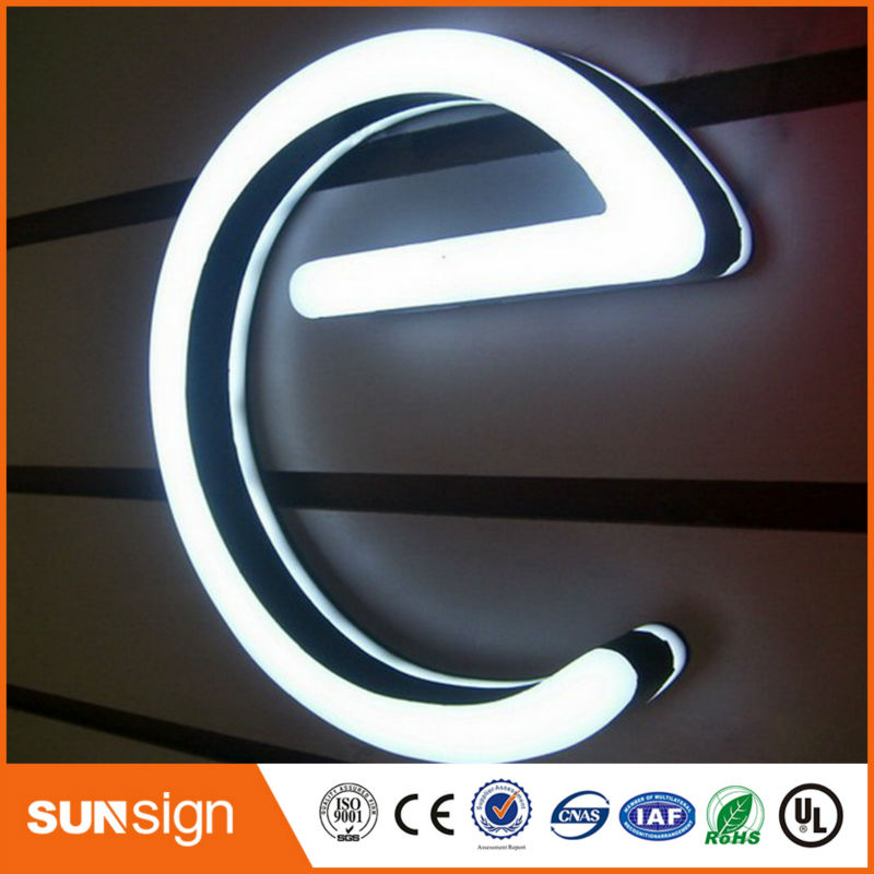 Advertising Acrylic Frontlit Led Letter