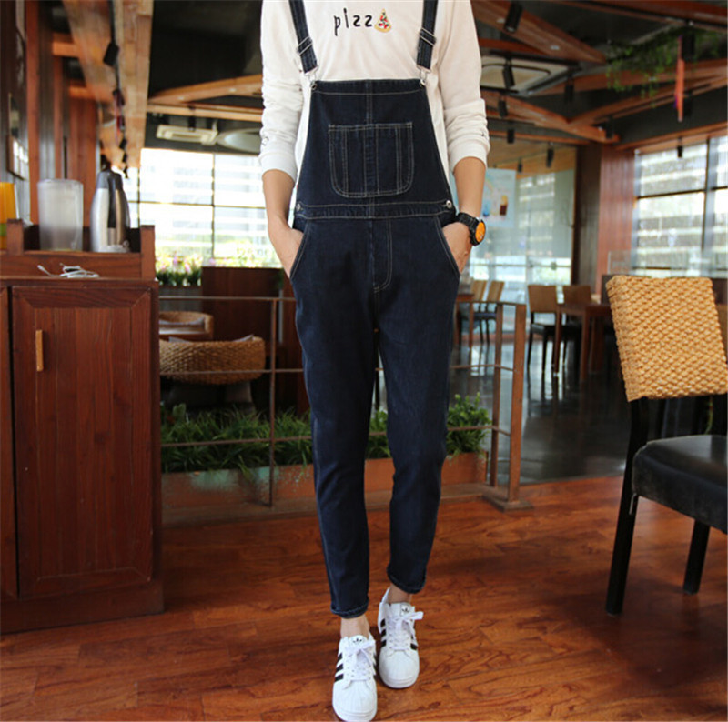 New Arrival Denim Overalls Men Bib Jeans Fashion Overall Jeans Mens Jeans Fashion,Mens Bib Overalls,Denim Jumpsuit Men MB127 denim overalls male suspenders front pockets men s ripped jeans casual hole blue bib jeans boyfriend jeans jumpsuit or04
