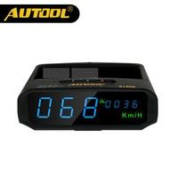 Original AUTOOL X100S Universal Car HUD GPD Head Up Display KM H MPH Overspeed Warning Altitude