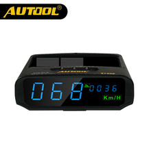 AUTOOL X100S Universal Car HUD GPS Head Up Display KM/h MPH Overspeed Warning Altitude Speedometer Electrical Instruments