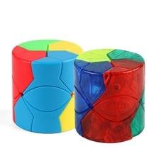 MoFangJiaoShi Moyu Cubing классный куб Redi, цилиндрическая головоломка, без наклеек, магический куб, игрушки для детей