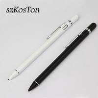 Stylus Touch Pen For iPhone Huawei HTC Google LG Capacitive Touch Pen For iPad 1 2 3 4 Pro 9.7 Mini Tablet Phone Drawing Pencil