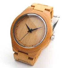 BOBO BIRD H05 Men's Designer Watches Bamboo Wood Luxury Brand With Wood Strap Analog Men Dress Watch With Japanese Movement