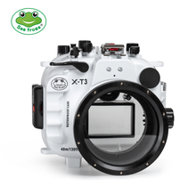 Seafrogs Wholesale Newest 40M underwater diving case waterproof camera housing for Fujifilm XT-3