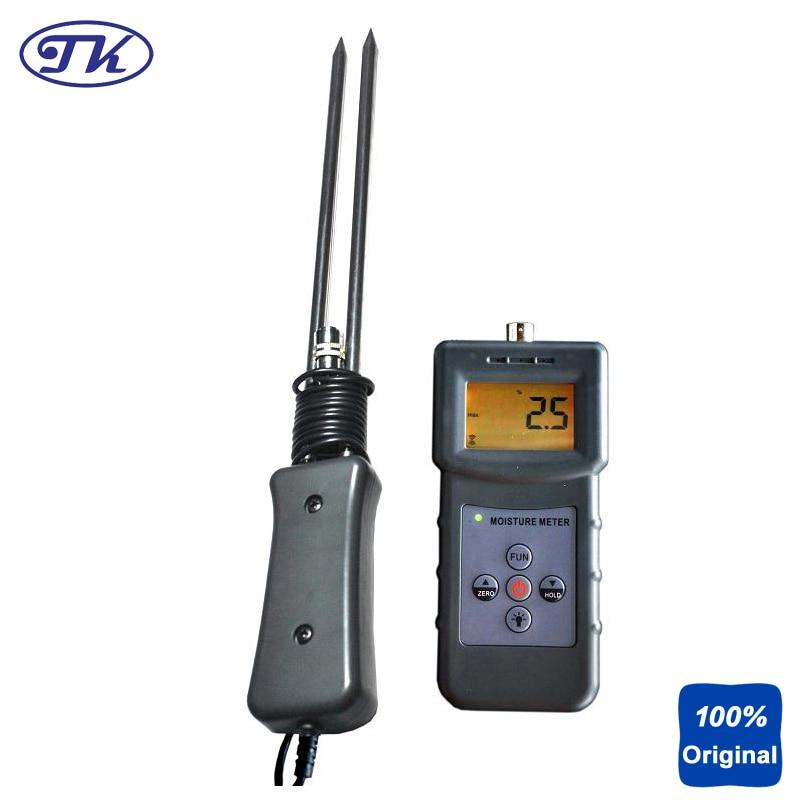 Portable Moisture Meter Compact Moisture Instrument Multifunctional Grain Moisture Tester MS-G brand portable digital multifunctional moisture meter tester 0 80% tk100