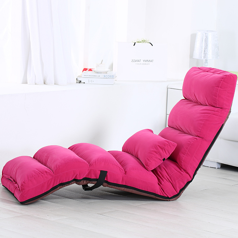 Magnificent Us 227 06 18 Off Lazy Sofa Relaxation Folding Bed Multifunction Fabric Couch Lounge Floor Chair Japanese Recliner Beanbag Balcony Bedroom Chairs In Creativecarmelina Interior Chair Design Creativecarmelinacom