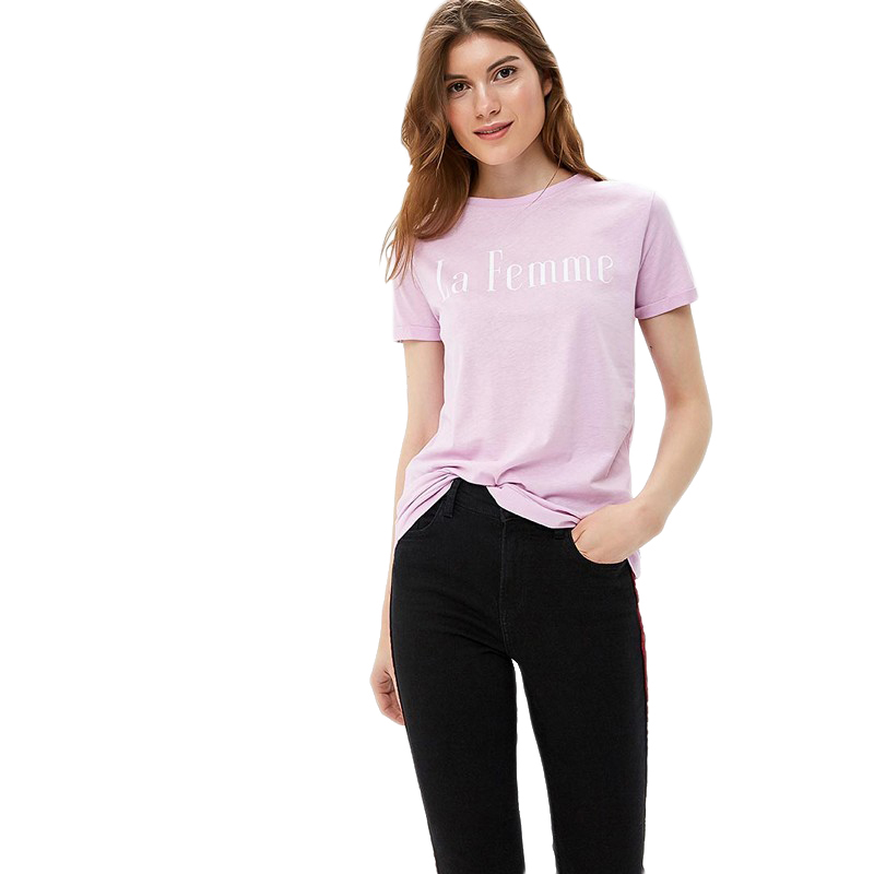 T-Shirts MODIS M182W00051 shirt cotton for for female for woman TmallFS t shirts modis m182w00115 shirt cotton for for female for woman tmallfs