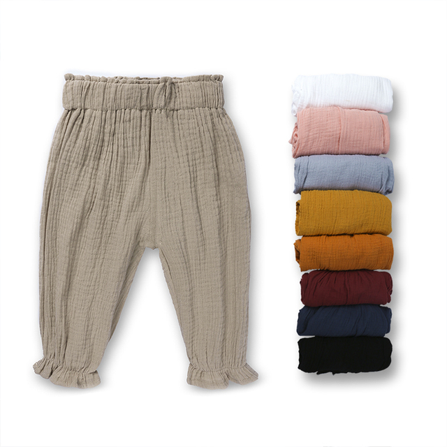 7d094ecd7 € 4.31 37% de DESCUENTO 2018 verano sólido color de falda de los niños de  la rodilla longitud pantalones para niños niñas Pantalones para niños ...