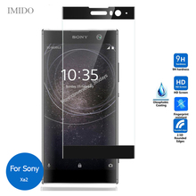 For Sony Xperia Xa2 Full Cover Front Tempered Glass Screen Protector