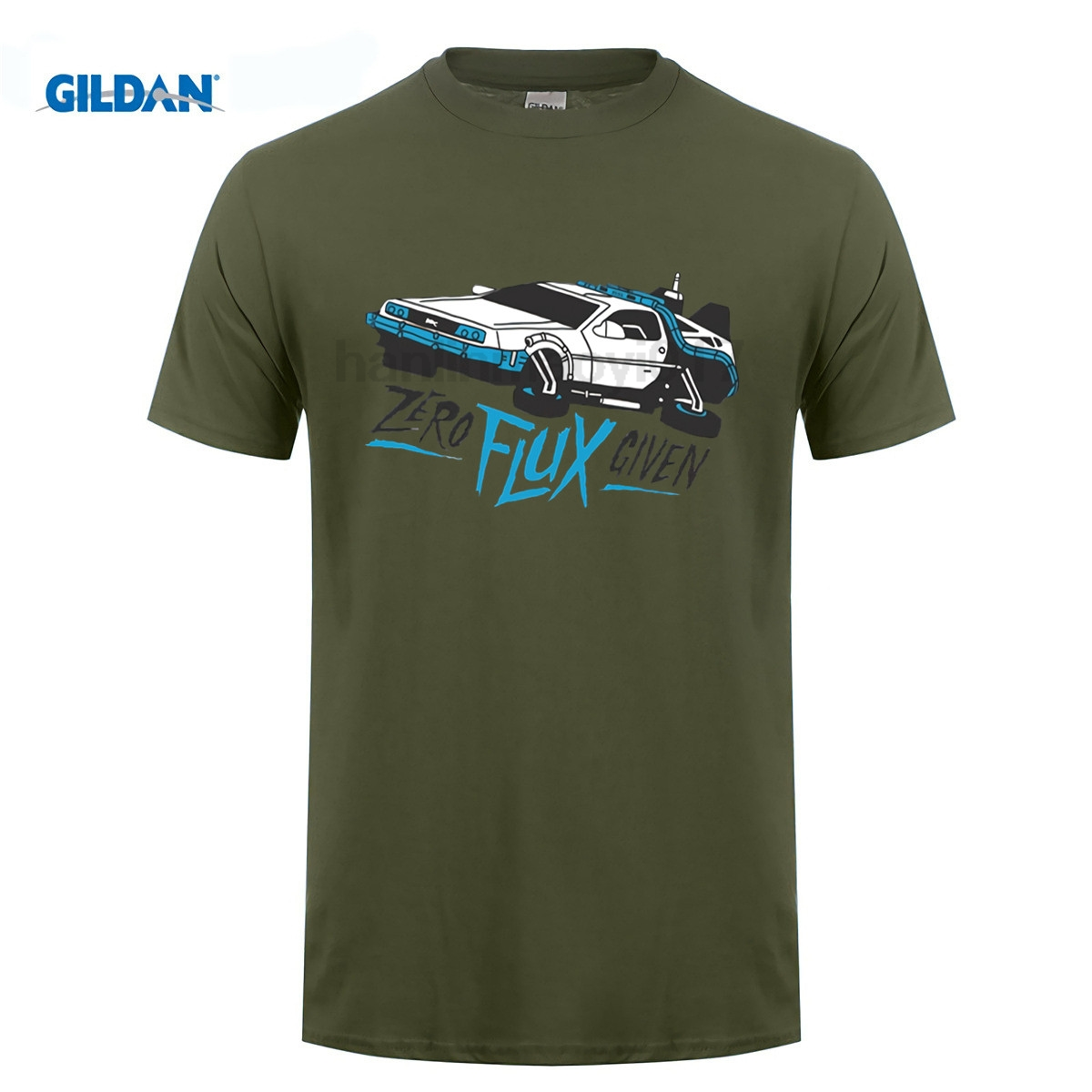 GILDAN Back to the Future Classic Movie Series T-shirt Men Hip Hop Short Sleeve TShirts Summer T Shirts