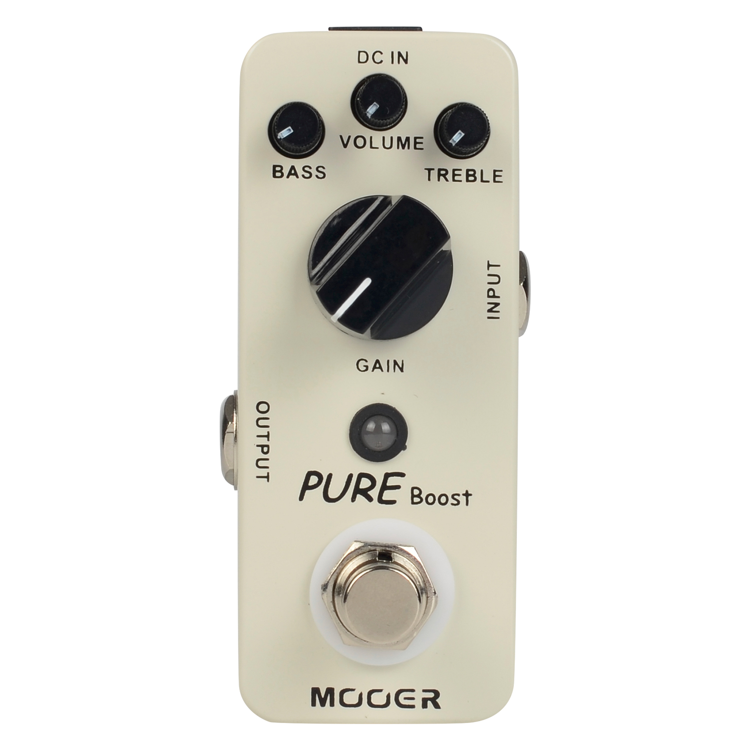Mooer Pure Boost Guitar Effect Pedal Micro Series 20 dB Clean Boost True Bypass MBT2 mooer baby bomb guitar effect pedal master volume provide warm true tube like 30w digital micro power amp bm30