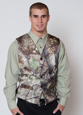 28e2851b7ed4c man camouflage groomwear formal vest men's wedding realtree camo formal  tuxedo vest custom make free shipping