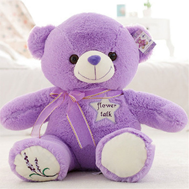 Special offer product manufacturers 35cm lavender bears Teddy bear plush  toys 7f92c8ab21