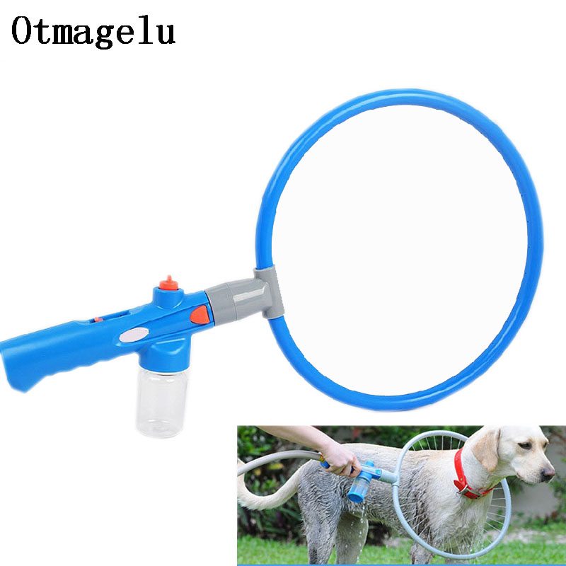 360 Degree Pet Dog Cat Kitty Shower Head Hose Full range Dog Bath Washing Cleaner Massag ...