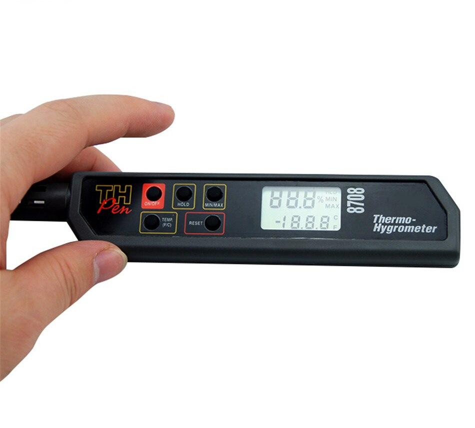 Portable Handheld Pen Type Digital Hygro-thermometer Hygrometer-DP/WBT 4pcs wbt 0152ag 99 998