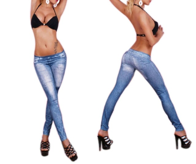 cfc2327734232 Best selling Jeans Blue Legging Pant Sexy jeans for women fashion leggings  high quality 4S8218 Free