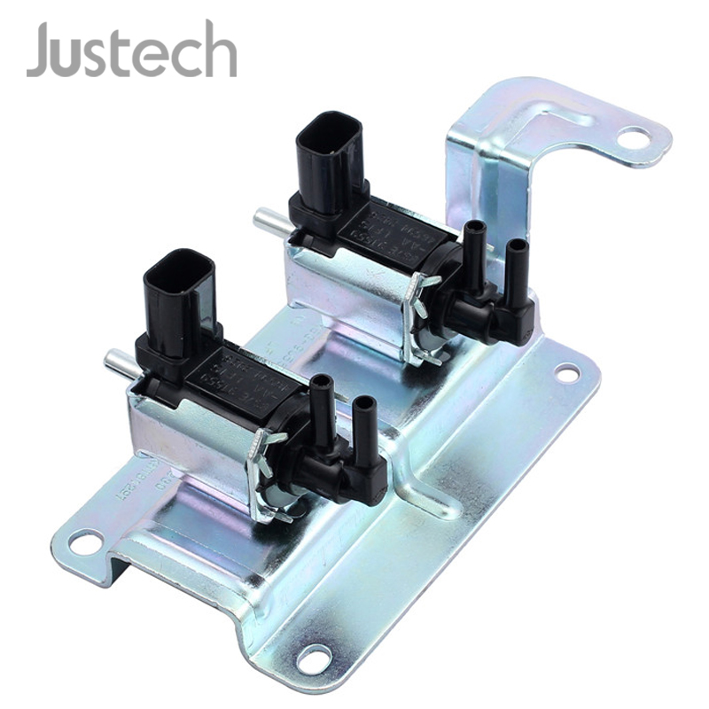 Justech 4M5G-9J559-NB Vacuum Solenoid Valve Intake Manifold Runner Control For Ford Focus Galaxy S-MAX Engine Air Shut Off Valve