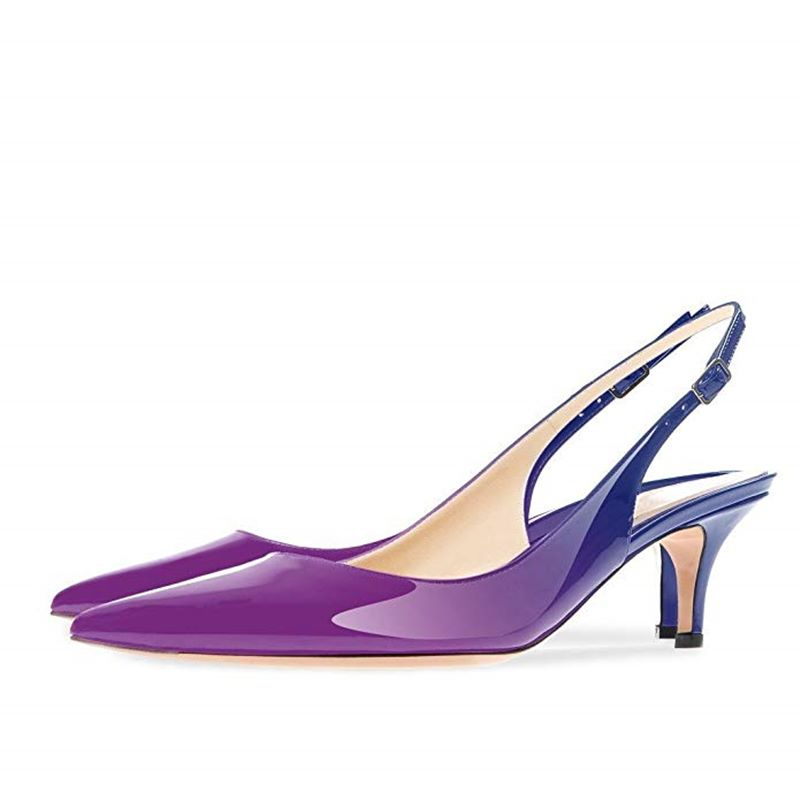 De Femme Mariage Parti Red 45 Gray Taille red Blue Asumer Mince Hauts Black Blue 2019 Femmes Chaussures Apricot black black 34 purple Nouveau Europe Talons Pompes Bout Grande Pointu Sexy Slingback SMpUzVq