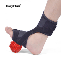 EasyThru ankle support protection ankle foot drop correction shoes medical rehabilitation equipment + massage ball