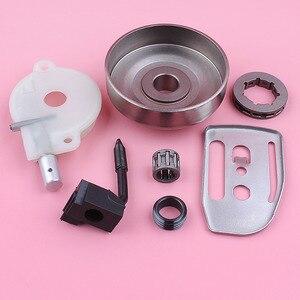 Image 5 - Llanta de rueda dentada para Husqvarna 36 41 136 137 141 142, bomba de aceite, engranaje helicoidal, placa de barra, motosierra, repuesto de pieza de repuesto