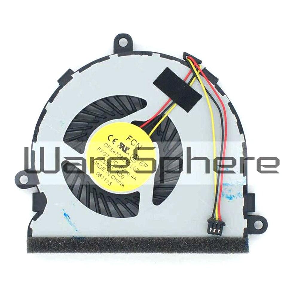 Original CPU Cooling Fan for HP HP Pavilion 250 G3 246 G3 14-R 15-G 15-R 15-H 245 G3 753894-001 DC28000E3F0 DFS470805CL0T-FG77