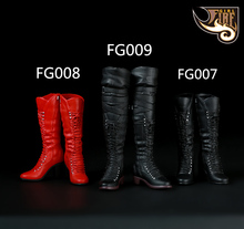 1/6 Scale Female Boots Shoes Model for 12 inches Female Steel Skeleton Jiaodoll PH Body Figure
