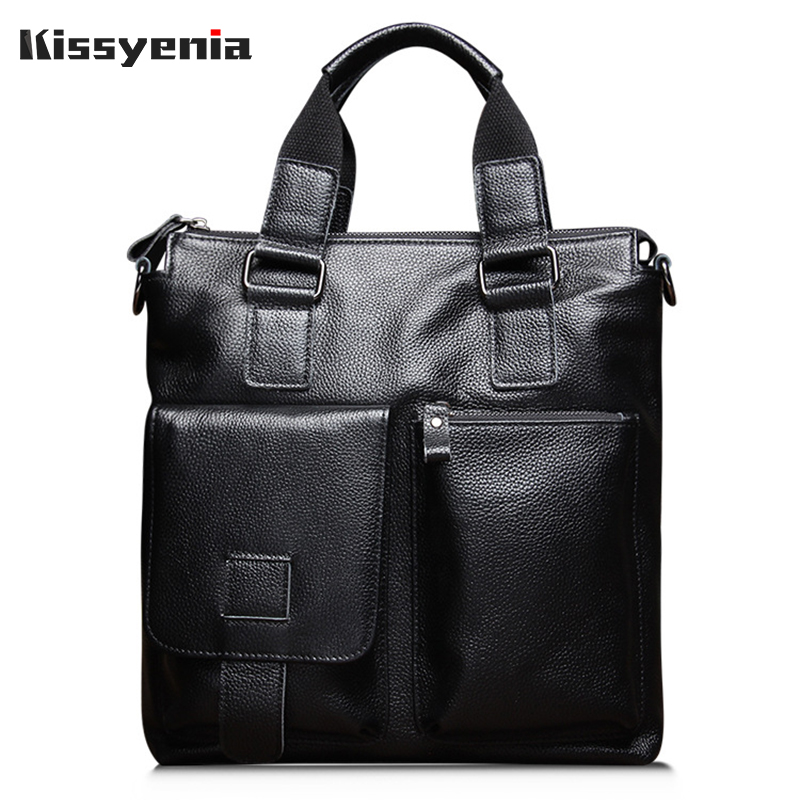 Kissyenia 100% Genuine Leather Men Business Messenger Bag Formal Business Shoulder Bag Travel Luxury Handbag for Business KS1104Kissyenia 100% Genuine Leather Men Business Messenger Bag Formal Business Shoulder Bag Travel Luxury Handbag for Business KS1104