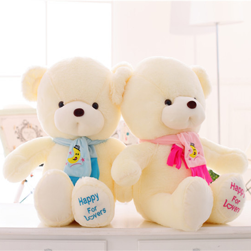 buy lovely stuffed toys 30 45 65cm giant stuffed teddy bear plush toys with. Black Bedroom Furniture Sets. Home Design Ideas