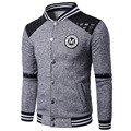 Hoodies Men 2017 Brand Male Long Sleeve Hoodie Baseball Clothing Sweatshirt Mens Cardigan Moletom Masculino Hoodies Tracksuit