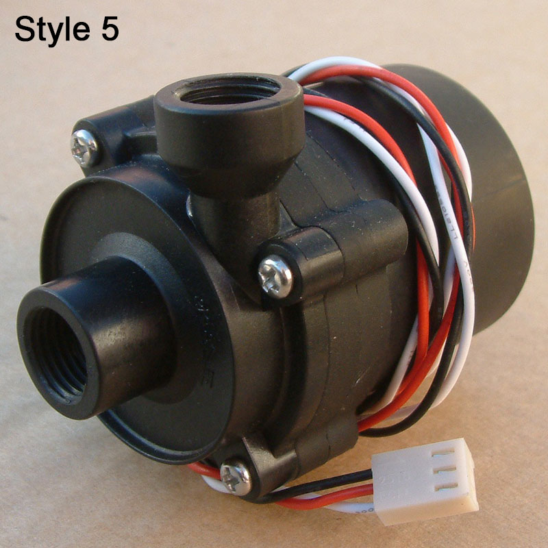 Купить с кэшбэком SC600 Computer Water Cooling Water Pump with Top Cover Black Transparent Thread Import and Export