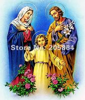 Free shipping hot sell fabric picture,new technical items,God family
