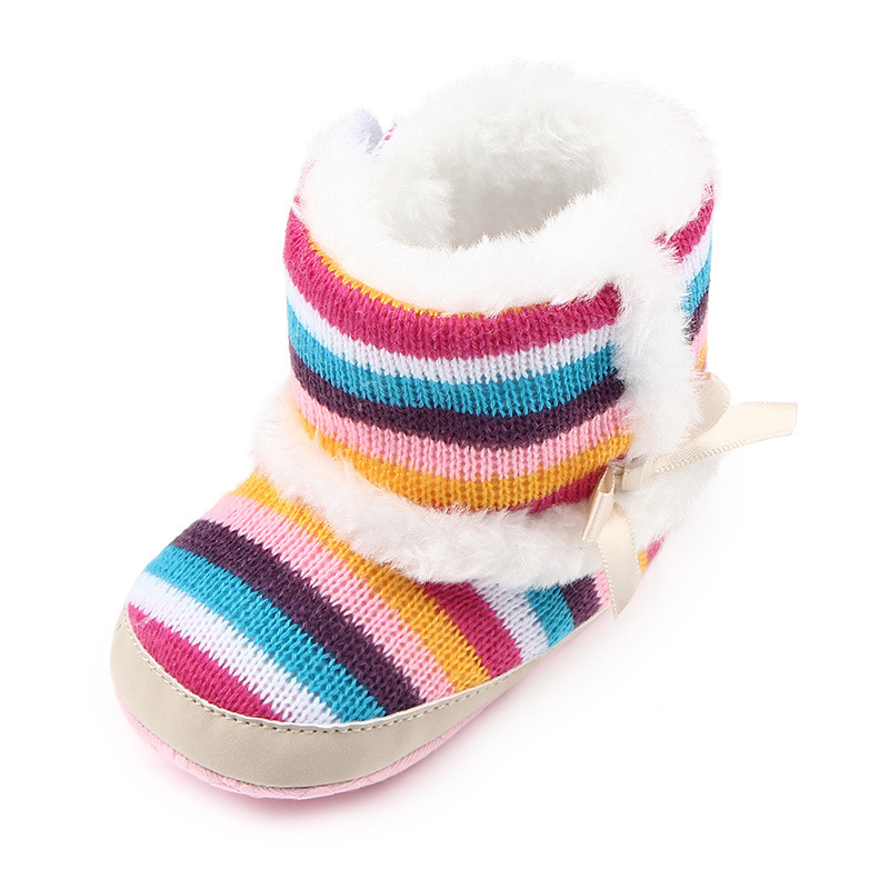 Super Quality 1pair cotton-padded Baby Boots Shoes, Fashion Warm Winter Infant/Toddle soft shoes, Babytoddler shoes